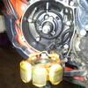 MTX200R クランクシールチェック
