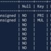 MySQLでテーブル定義を表示する.いくつかあるけれど一番見やすいものを.