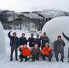 冬の飯山といえばかまくら!「かまくら応援隊」が作ってます