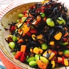 お弁当にも☆枝豆とコーンのカラフルひじき煮