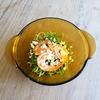 海老と空心菜のサラダ