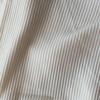 夏向けリブ素材|縦のラインで細見えするテレコ生地に注目!