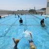 水泳教室2日目