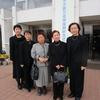 3,11東日本大震災追悼復興記念式典に出席。