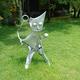 今日の黒猫モモ&白黒猫ナナの動画ー844