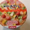 日清カップヌードルライトプラス蟹のトマトクリーム糖質35.1g