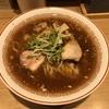 きたかた食堂@新橋の醤油らーめん(+トロたくちらし)