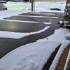 除雪はほぼしなくてもよかったけれど…。