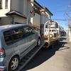 見沼区から法人名義の遺産相続の故障車をレッカー車で廃車の引き取りしました。