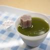 【青森市浅虫】浅虫温泉駅の面白スイーツ。地元銘菓「久慈良餅」と抹茶のコラボゼリー。