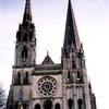 シャルトル大聖堂のファサード