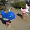 上祖師谷一丁目公園と給田公園の動物たち