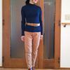 UNIQLO Uの「3Dメリノリブモックネックセーター」が優秀すぎます