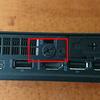 ThinkCentre M75q-1 Tiny にSSDとメモリを増設した