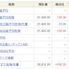 株投資、今日も、も、(*´Д`)
