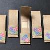 【紙バンド・エコクラフト手芸】紫陽花の爪楊枝入れ