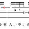5分でOK!忙しい人が万能ギタリストになる練習方法(ハーモニック・マイナー・スケール①)
