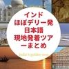 インド・ほぼデリー発の日本語現地発着アレンジツアーおすすめ まとめ【注意点つき】