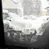 雪降りの一日