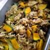 豚肉とかぼちゃのグリーンソース