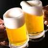 幹事様無料!3000円(税サ込)!ビアホールコースで冷え冷え樽生ビールを!