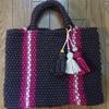 「ニューヨークでトレンドな編み方の技法」と「メルカドバッグ」の講習会に参加!