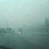 ゲリラ豪雨に会う