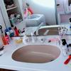 洗面台の断捨離ビフォーアフターを公開、ズボラ主婦は見た目よりも散らかりにくさを優先する。