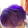 nyoitiの髪の毛が紫に?!
