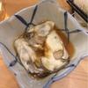 銀座 真牡蠣 生3 天ぷら2
