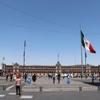 メキシコで一番広大なソカロ