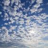 瀬戸の海と雲