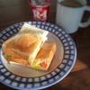 盛り付けるのが苦手な方にサンドイッチのススメ。