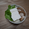 レンジで2分「簡単湯豆腐」