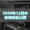 【目指せ不労所得】2020年12月の投資収益公開