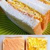 たらこディップと卵焼きのサンドイッチ♪<本日のおうちランチ>