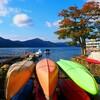 湖畔の風景と富士山スイーツ🎵