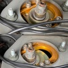 車高調のピロアッパーマウントでキャンバー調整する方法