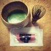 飲みすぎた胃に抹茶が優しい、、桜餅を食べ尽くす、桜餅ウィーク今日もやってるよ!