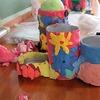 3年生:図工 ハッピー小物入れ完成