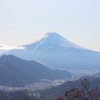 紅葉の登山道と山頂からの雄大な富士山 アクセス良し、眺望良しの高川山に登る【高川山(標高976m)/山梨県】(2019年)