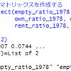 都道府県別の空き家・持ち家・借家数のデータ分析6 - R言語でClustering。dist関数、hclust関数、plot関数