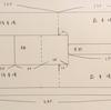 【裁断図】こどもリップル浴衣(四つ身・つまみ衽仕立て)生地幅102cm