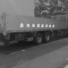 大型トラック平ボディー雨の日のシート掛けは大変!