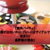 【焼肉パーティ】煙が出ないホットプレートはザイグルグリルで決まり!!高評価の理由!!