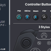 【Unity】Switch、PS4、Vita、Xbox One、Steam、キーボード、マウスの各ボタンやコントローラの PNG・PSD ファイルがセットになった「Controller Button Kits x6」紹介($16.20)
