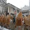 【山形観光】上山の温泉街で真冬に水をぶっかけるお祭りを絶対に見逃すな!