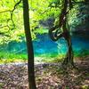 【丸池様】瑠璃色に輝く神秘的な丸池とその周辺の観光スポットを紹介します!
