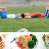 スポーツとタンパク質(血中アミノ酸(特に必須アミノ酸)濃度を増加させることによりレジスタンストレーニングに対する同化反応を最大化させることができる)