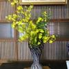 店内の生け花